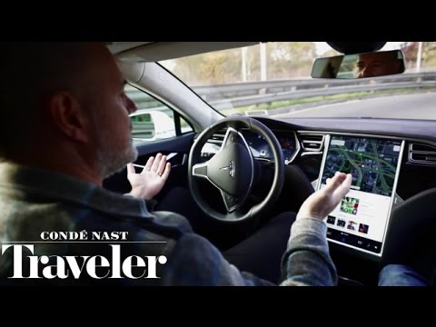 Test Driving the Tesla Model S: The Future of Autonomous Cars | The New Yorker