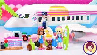 Lego Heartlake City Airplane Build & Review