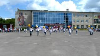 Мценск Флешмоб!!! День России!