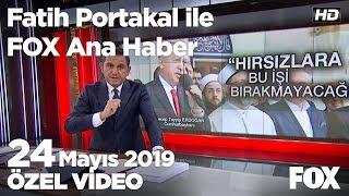 Ağlayarak İmamoğlu'na sarıldılar... 24 Mayıs 2019 Fatih Portakal ile FOX Ana Haber