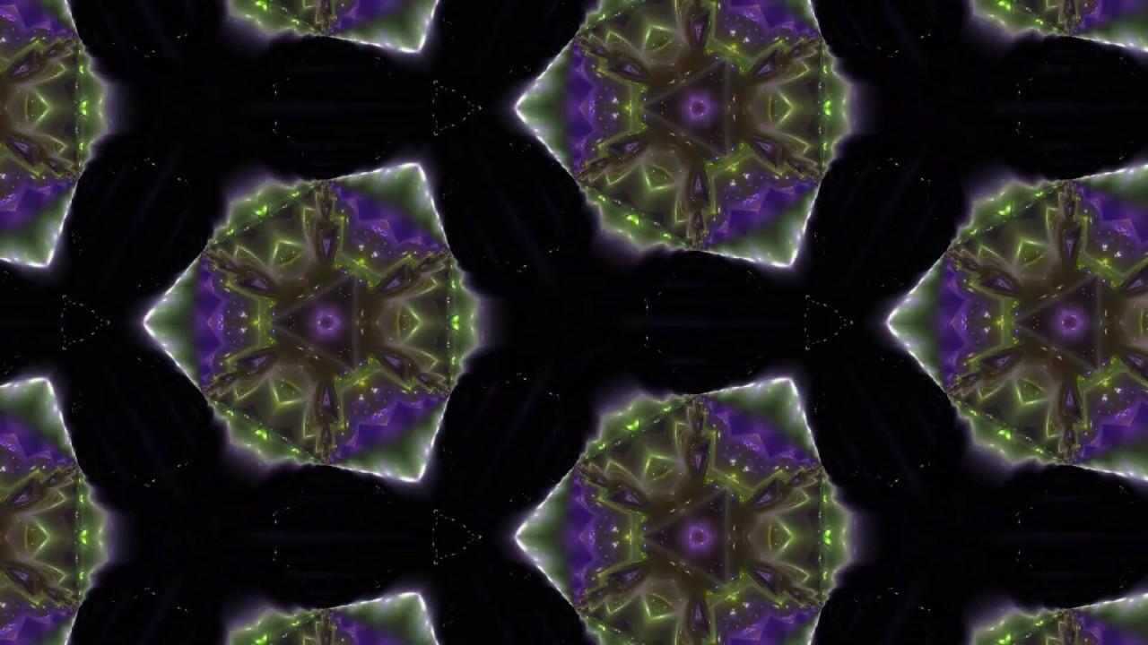 Калейдоскоп - узоры на стекле - YouTube