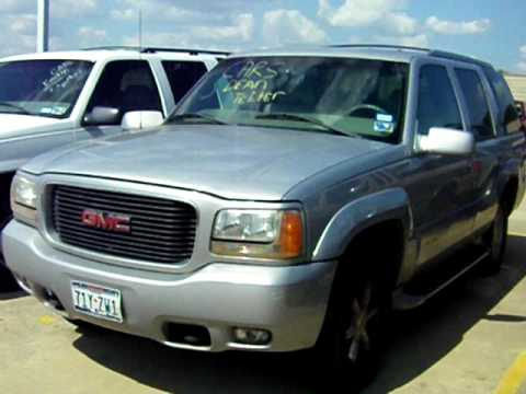 Cash For Clunkers >> Cash for Clunkers: 1999 GMC Yukon Denali Victim - YouTube