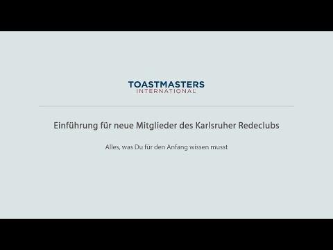 Einführung für neue Mitglieder - Karlsruher Redeclub