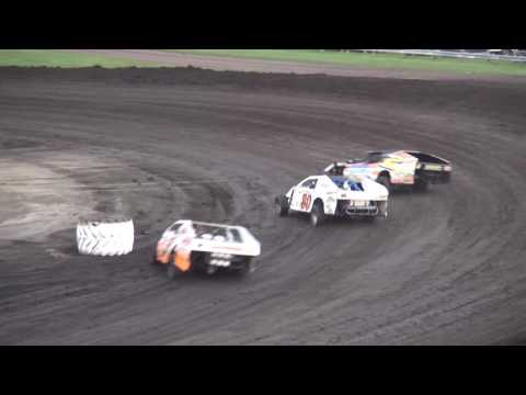 IMCA Modified feature Benton County Speedway 8/7/16