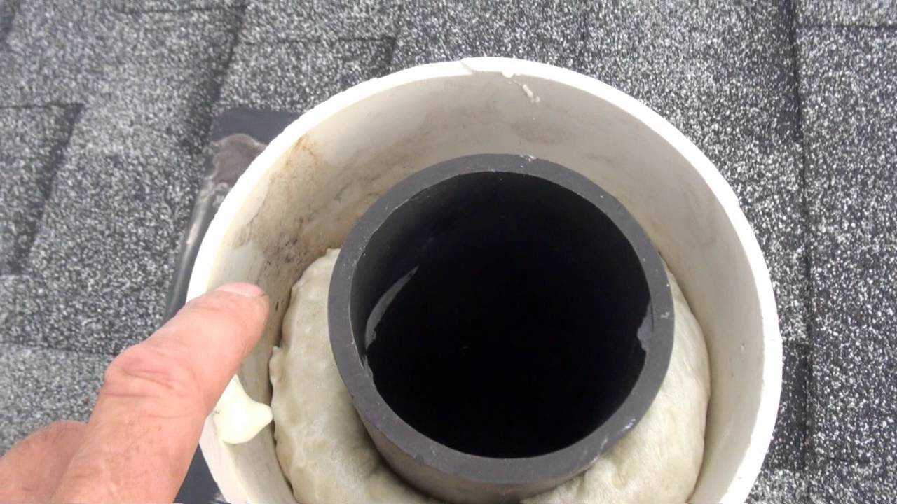 Frozen Sewer Roof Vent Fix Youtube