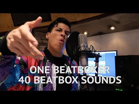 One Beatboxer, 40 Beatbox Sounds