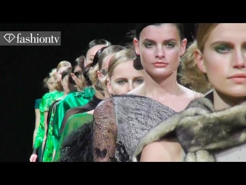 Talbot Runhof Fall 2012 Show - Modern Robin Hood on the Runway | Paris Fashion Week PFW | FashionTV
