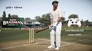 Don Bradman Cricket 17 PC Controller Error Fix 2018