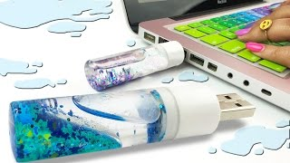 DIY LIQUID USB FLASHDRIVE