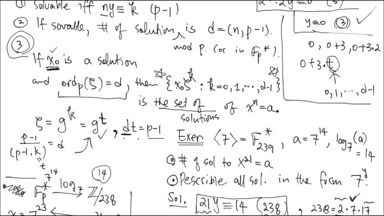 Euler Criterion for Quadratic Residues - YouTube  Euler Criterion...