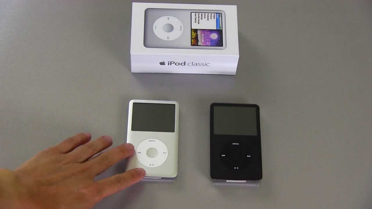 Ipod Classic Sound Quality Differences Youtube