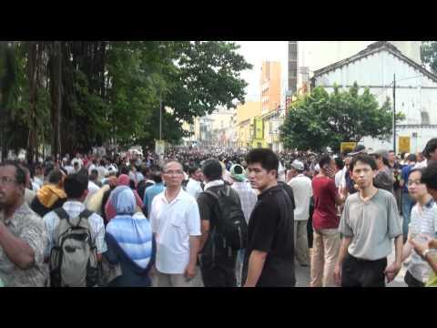 Bersih 2.0 Jalan Hang Kasturi & Merdeka Square
