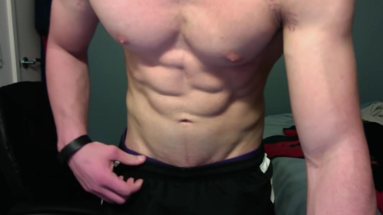 Aesthetic junior bodybuilder - After chest training, part