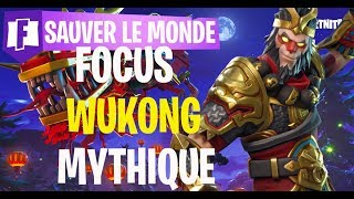 FORTNITE SAUVER THE WORLD MYTHICAL WUKONG
