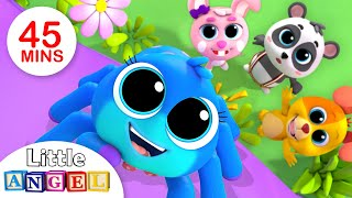Itsy Bitsy Spider and Its Friends| Kids Songs & nursery Rhymes Little Angel