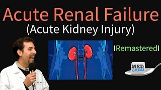 Acute Kidney Injury / Acute Renal Failure Explained Clearly - Remastered