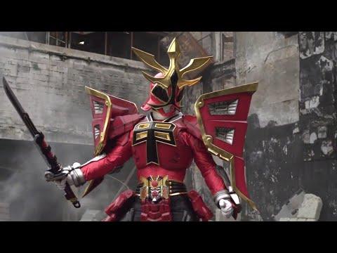Power Ranger Super Samurai | Batalla Final | Ranger Rojo Modo Shogun