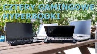 4 GAMINGOWE laptopy Hyperbook