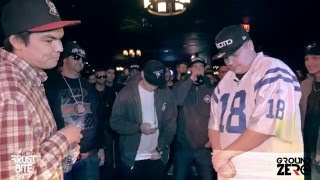 KOTD - Rap Battle - Just Jordan vs Bannock Kardinal | #GZ