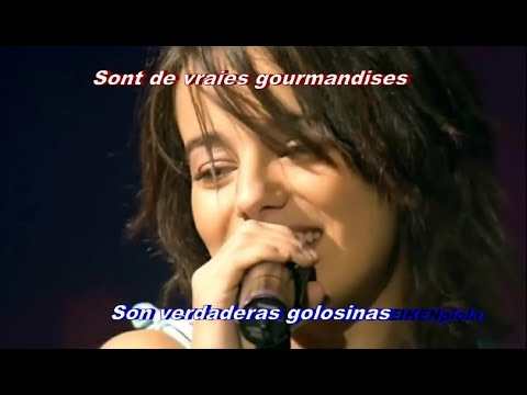 Alizée - Gourmandises (Subtitulos Español-Francés) En Concert Remastered HD 1080p