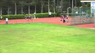 聖言中學學界田徑比賽2016 男子甲組 4X100M 決賽