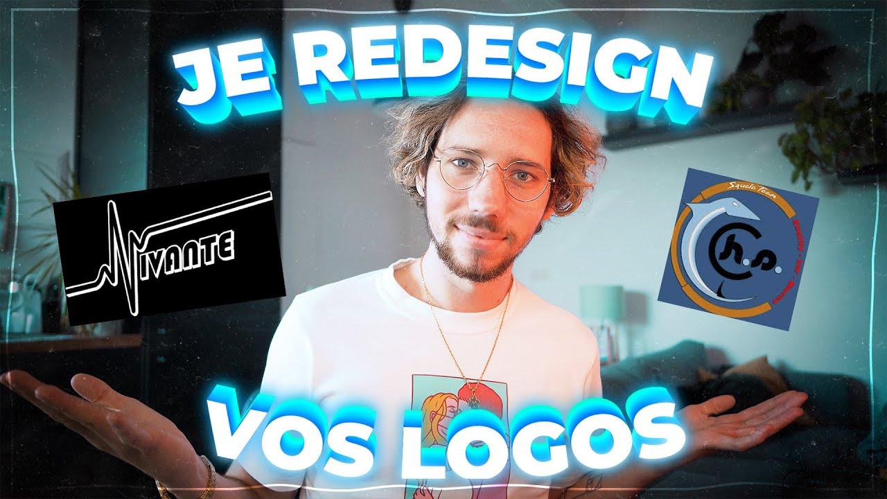 Je critique et redesign vos logos #5