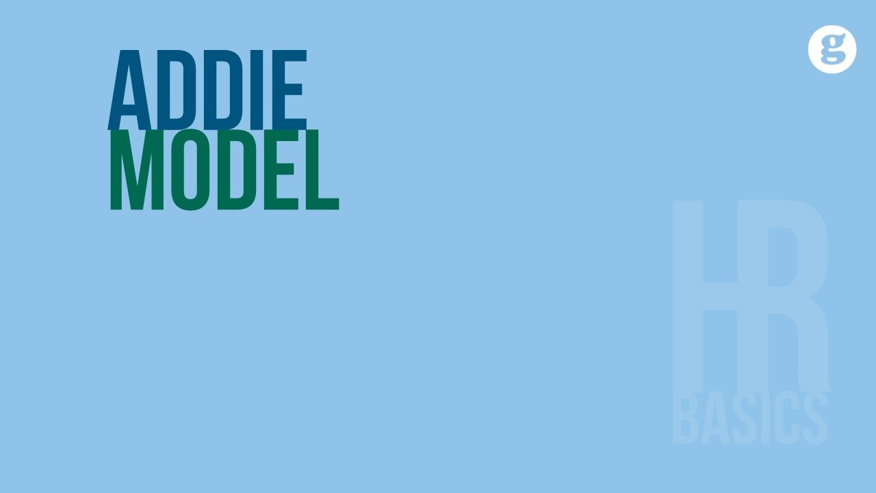 HR Basics: ADDIE Model
