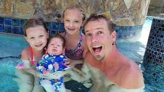 Baby Preston Goes Swimming For The First Time!