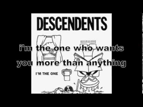 DESCENDENTS - I'm the One (lyrics on screen)
