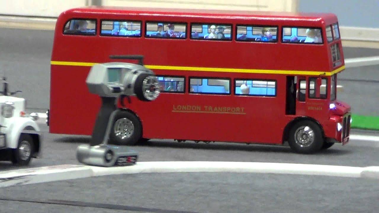 Amazing Custom Built Rc London Bus 1 14 Scale Rc Bus