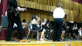 "7th Grade Band B Gale Wilson ""Low Rider"" or the ""George Lopez"" theme song"