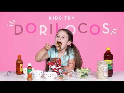 Kids Try Dorilocos | Kids Try | HiHo Kids