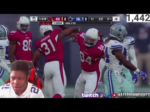 CARDINALS VS COWBOYS GAME MADDEN NFL 18 (IMPRESSIONS, THOUGHTS, PLAYERS)