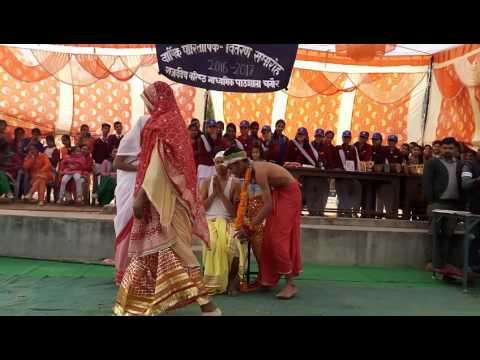 Arey Dwarpalo Kanhaiya Se Kehdo Dar Pe Sudama Garib aa gaya hai .By Students GSSS Chanour