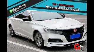 แต่งรถ Honda Accord G10 2019-2021 ชุดแต่ง ASK โทร 095 6699668 LINE @gtcostume  #GTCOSTUME