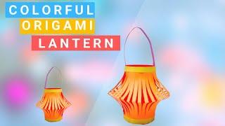 How To Make a Colorful Diwali Lantern |  Make Paper Lantern for Diwali