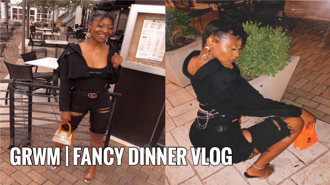 GRWM | FANCY DINNER VLOG | DIOR AVA