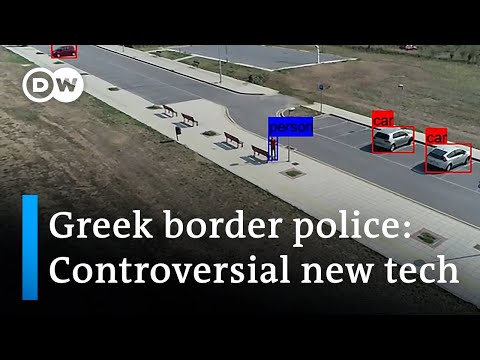 Greece to introduce high-tech border security system | DW News