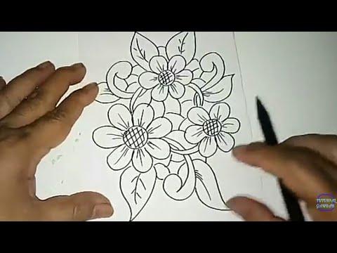 Motif Batik Bunga 12 Youtube