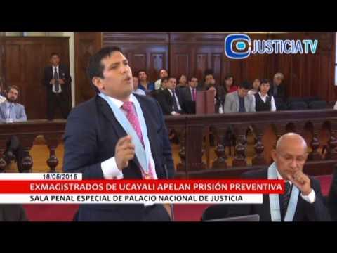 Apelación de Prisión Preventiva - Jueces Ucayali, Omar Hernandez Humire