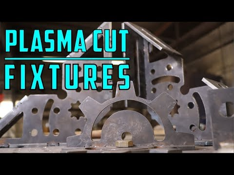 PLASMA CUT FIXTURES - DXF FILES