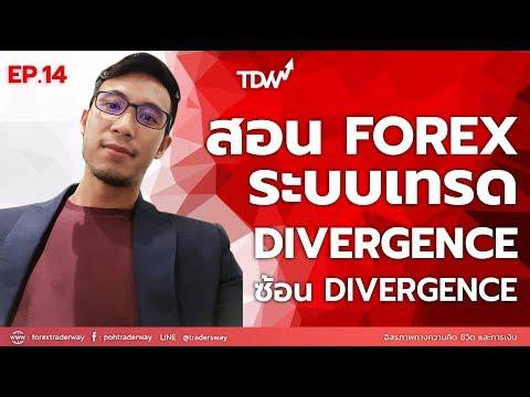 สอนเทรด Forex : ระะบบเทรด Divergence ซ้อน Divergence