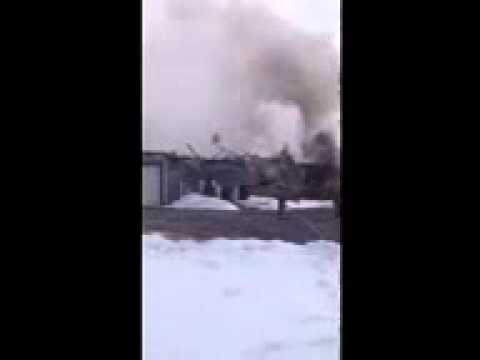 House Fire in Porter Township