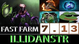 IllidanSTR [Faceless Void] Fast Farm ► Dota 2 7.13