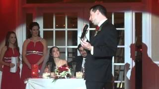 Steve and Amandas wedding 12-19-15 best man speech(Amanda and Steve Slavoff 12/19/15., 2015-12-21T20:26:21.000Z)