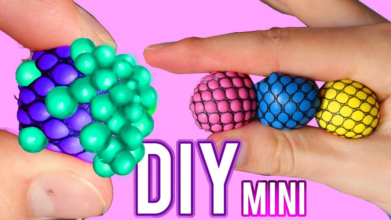 Squishy Stress Ball Diy : DIY Mini Squishy Mesh Stress Ball! Changes Color Stress Ball! - YouTube