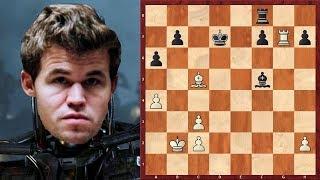 Шахматный ТЕРМИНАТОР по имени Магнус Карлсен!
