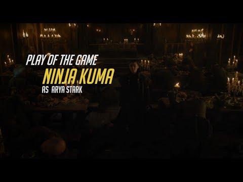 Arya Stark Play Of The Game - Arya Kills House Frey (GoT S7E01) [Game Of Thrones Season 7 Episode 1]