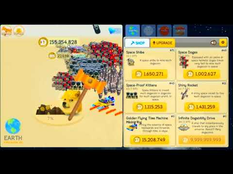 dogeminer     moon gameplay youtube