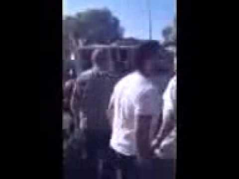 Pro-Israel demonstrators attacked at Los Angeles rally